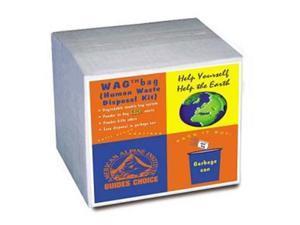 Cleanwaste D019W12 Go Anywhere 12-Pack Waste Kits
