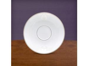 Lenox 806480 Opal Innocence Scroll Saucer Pack Of 12