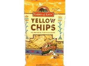 Garden of Eatin Tortilla Chips Yellow 8.1-Ounce Bags -Pack of 12