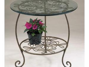 22 In. W x 22 In. D x 22 In. H Round Table - D68 TB107