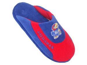 Comfy Feet CF-KAN07XL Kansas Jayhawks Low Pro Scuff Slippers - X-Large