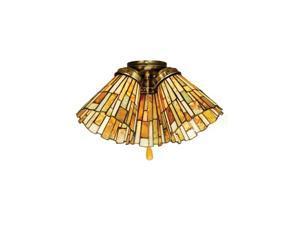 Meyda 65093 Jadestone Delta Fan Light Shade