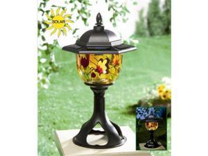 Princess International PI-5089 Tiffany Style Solar Patio and Garden Light