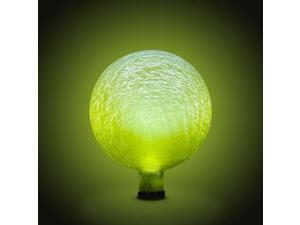 Achla G10-Y-F Solar Gazing Globe 10 in. Lemon Drop Frosted