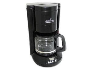 Coffee Pro CP333B Home-Office 12-Cup Coffee Maker, Black
