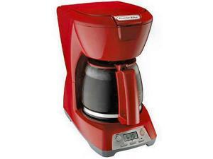 Proctor 43673 RED 12 Cup Programmable Coffee Maker - Red