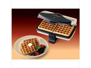 Chefs Choice 8520000 2-Square Belgian Waffler