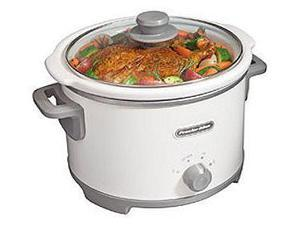 Proctor 33042 WHT 4 Quart Slow Cooker
