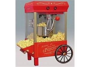 Nostalgia KPM508 Old Fashioned Kettle Corn Popper - Red