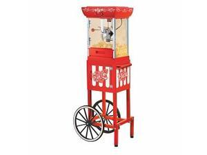 Nostalgia Electrics Ccp399 Old Fashioned Movie Time Popcorn Cart