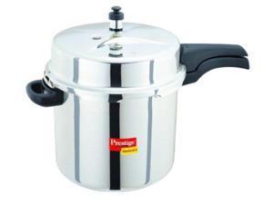 Prestige PDSSPC10 Deluxe Stainless Steel Pressure Cooker - 10 Litres