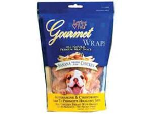 Gourmet All Natural Meat Wraps Banana And Chicken 8Oz