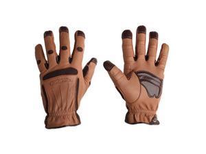 Bionic Glove PROMXL Men's Tough Pro Heavy Duty Brown Pair- X-large