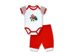 Spencers  H824B/0-3 Spencers Christmas Santa Suit Set - 0-3 Months