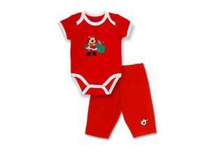 Spencers  H924A/3-6 Spencers Christmas Santa Suit Set - 3-6 Months