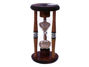 River City Cuckoo 1015BB 15 Minute Antique Wood Sand Timer