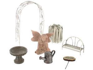 Echo Valley 6240 7 Piece Fairy Garden Starter Kit - Pack of 4
