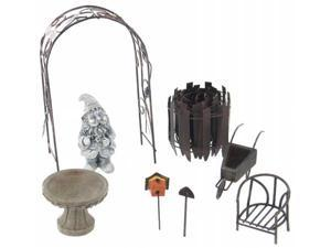Echo Valley 6220 8 Piece Garden Lawn Gnome Accessory Kit - Pack of 4