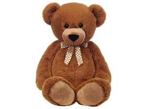 Fiesta A28201 38 in. Brown Cuddle Bear With Ribbon