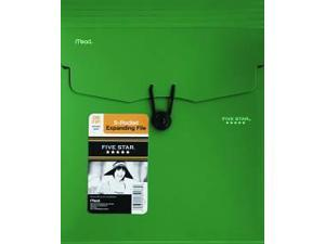 Acco Brands Usa Llc 35176 Five Star Expanding File with Removable Files 5 Pocket Vertical 10.25x12.25 Asst