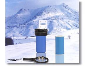 Crystal Quest CQE-WH-01104 Whole House Single 10 in. x 5.0 in. Water Filter System