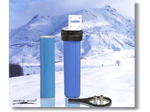Crystal Quest CQE-WH-01107 Whole House Single 20 in. x 5.0 in. Water Filter System