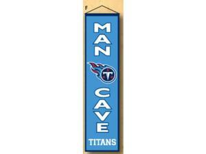 Winning Streaks Sports 49179 Tennessee Titans Man Cave Banner