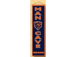 Winning Streaks Sports 49150 Chicago Bears Man Cave Banner