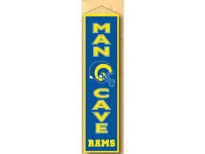 Winning Streaks Sports 49164 Saint Louis Rams Man Cave Banner