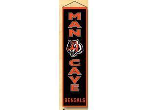 Winning Streaks Sports 49165 Cincinnati Bengals Man Cave Banner