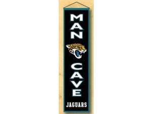 Winning Streaks Sports 49173 Jacksonville Jaguars Man Cave Banner