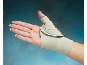 North Coast Medical NC79591 Comfort-Cool Thumb CMC Restriction Splint Beige, Right, Large Plus