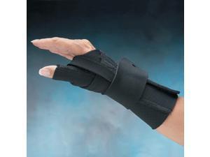 North Coast Medical NC79590 Comfort-Cool Thumb CMC Restriction Splint Beige, Left, Large Plus