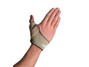 North Coast Medical NC79582 Comfort-Cool Thumb CMC Restriction Splint Beige, Left, Small Plus