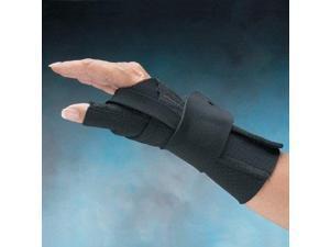 North Coast Medical NC79574 Comfort-Cool Wrist and Thumb CMC Restriction Splint, Left, Large