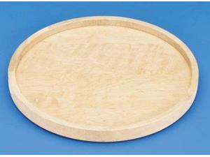 Rev A Shelf Rs4Wls001.28.B52 28 In. Full Circle Wood Classic Single Shelf - With Bearing Corner Lazy Susans