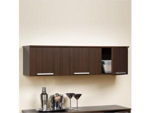 Prepac Mfg. ECHW-0203-1 Espresso Coal Harbor Wall Mounted Hutch