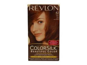 Revlon U-HC-1941 ColorSilk Beautiful Color No.42 Medium Auburn - 1 Application - Hair Color