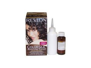 Revlon U-HC-1938 ColorSilk Beautiful Color No.30 Dark Brown - 1 Application - Hair Color