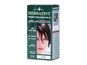 Herbatint 0226597 Permanent Herbal Haircolour Gel 2N Brown - 135 mL