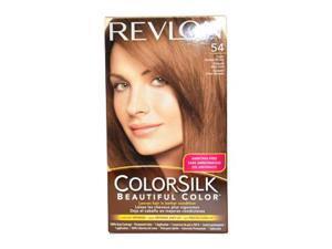 Revlon U-HC-1931 ColorSilk Beautiful Color No.54 Light Golden Brown - 1 Application - Hair Color