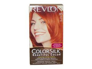 Revlon U-HC-2441 ColorSilk Beautiful Color No.45 Bright Auburn - 1 Application - Hair Color