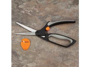North Coast Medical NC12565 Fiskars Softouch Scissors All-Purpose Shears with Safety Lock