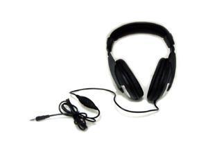 Kinyo KY-2701 6' Cord Stereo Headphones black