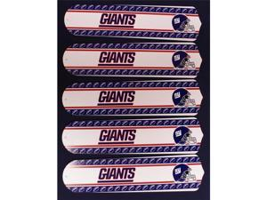 Ceiling Fan Designers 52SET-NFL-NYG NFL York Giants Football 52 In. Ceiling Fan Blades Only
