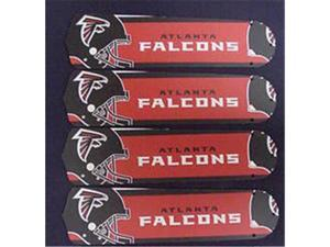 Ceiling Fan Designers 52SET-NFL-ATL NFL Atlanta Falcons Football 52 In. Ceiling Fan Blades Only