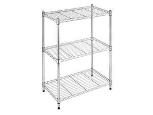 Whitmor 6060-3436 Supreme Small 3 Tier Shelves