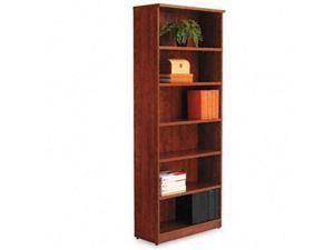 Alera VA63-8232MC Valencia Series Bookcase/Storage Cabinet- 6 Shelves- 32w x 14 1/2d x 82h- MCY