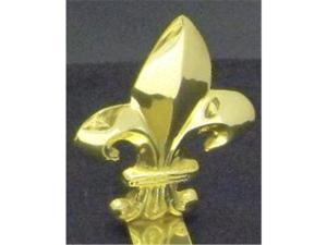Mayer Mill Brass - FDH-M - Fleur De Lis Stocking Hook - Medium