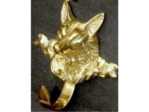 Mayer Mill Brass - DFH-1 - Decorative Fox Hook